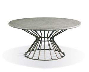 Hilton Head Furniture - John Kilmer Fine Interiors   374 835 Round Cocktail Table 1