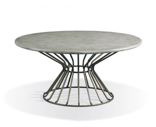 Hilton Head Furniture Store -  374 835 Round Cocktail Table 1