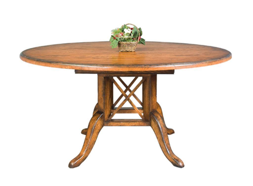 Birdcage Single Pedestal Table John Kilmer