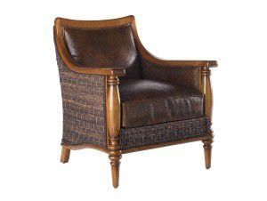 Hilton Head Furniture - John Kilmer Fine Interiors   Agave Leather Chair