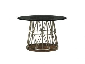 Hilton Head Furniture - John Kilmer Fine Interiors   Andover Dining Table With Glass Top 1
