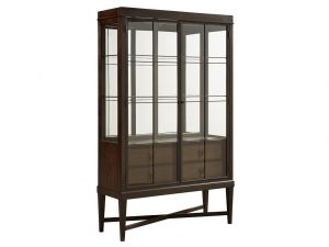 Hilton Head Furniture - John Kilmer Fine Interiors   Ansel Display Cabinet 1