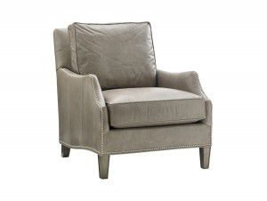 Hilton Head Furniture - John Kilmer Fine Interiors   Ashton Leather Chair