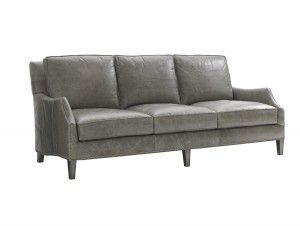 Hilton Head Furniture - John Kilmer Fine Interiors   Ashton Leather Sofa
