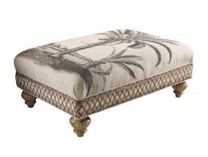 Hilton Head Furniture - John Kilmer Fine Interiors   Bahia Ottoman