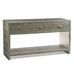 Hilton Head Furniture Store - John Richard Bangor Console Table With Three Drawers