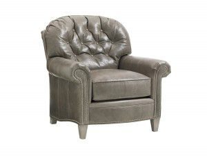 Hilton Head Furniture - John Kilmer Fine Interiors   Bayville Leather Chair
