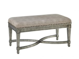 Hilton Head Furniture - John Kilmer Fine Interiors   Bed Bench Iron Gate 1