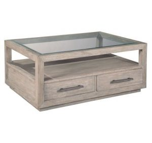 Hilton Head Furniture Store - Hekman Furniture Berkeley Heights Rectangular Glass Top Coffee Table