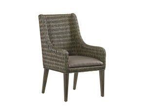 Hilton Head Furniture - John Kilmer Fine Interiors   Brandon Woven Arm Chair
