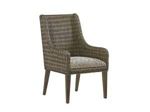 Hilton Head Furniture - John Kilmer Fine Interiors   Brandon Woven Arm Chair2