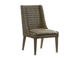 Hilton Head Furniture - John Kilmer Fine Interiors   Brandon Woven Side Chair