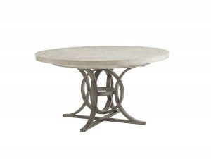 Hilton Head Furniture - From John Kilmer Fine Interiors - Calerton Round Dining Table