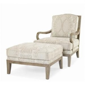Hilton Head Furniture - From John Kilmer Fine Interiors - Callaway Chair Ottoman 1