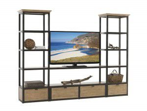Hilton Head Furniture - From John Kilmer Fine Interiors - Camino Real Shelves