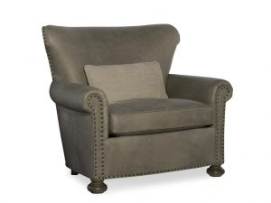 Hilton Head Furniture - John Kilmer Fine Interiors   Carlton Leather Chair 1