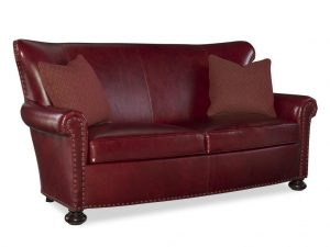 Hilton Head Furniture - John Kilmer Fine Interiors   Carlton Leather Loveseat 1