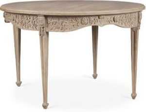 Hilton Head Furniture - John Kilmer Fine Interiors   Carved Dining Table 1