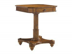 Hilton Head Furniture - John Kilmer Fine Interiors   Cinnamon Clove Lamp Table