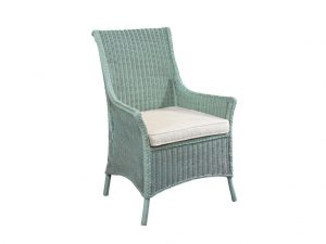 Hilton Head Furniture Store - Fine Furniture Design Protege Upholstery Cottage Wicker Arm Chair