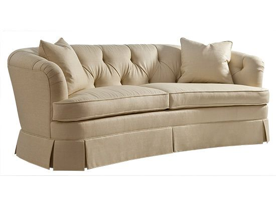 Kindel Furniture Crescent Tufted Sofa John Kilmer