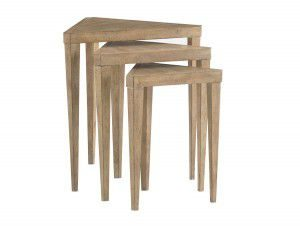 Hilton Head Furniture - John Kilmer Fine Interiors   Cupertino Triangular Nesting Tables