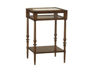 Hilton Head Furniture - John Kilmer Fine Interiors   Curio Box On Stand 1