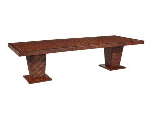 Hilton Head Furniture - John Kilmer Fine Interiors   Double Pedestal Dining Table 1