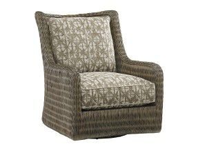Hilton Head Furniture - From John Kilmer Fine Interiors - Estero Swivel Chair