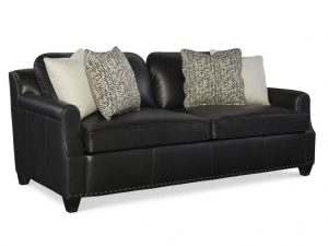 Hilton Head Furniture - John Kilmer Fine Interiors   Florence Sofa Leather 1