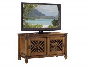 Hilton Head Furniture - John Kilmer Fine Interiors   Grand Bank Media Console