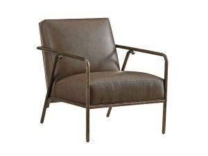 Hilton Head Furniture Store - Tommy Bahama Cypress Point Griffin Leather Chair