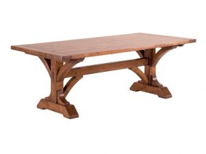 Hilton Head Furniture - John Kilmer Fine Interiors   Guy Chaddock Collection Newbury Trestle Table 1