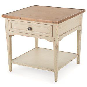 Hannah Square End Table John Kilmer