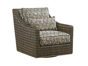 Hilton Head Furniture Store - Tommy Bahama Cypress Point Hayes Swivel Chair