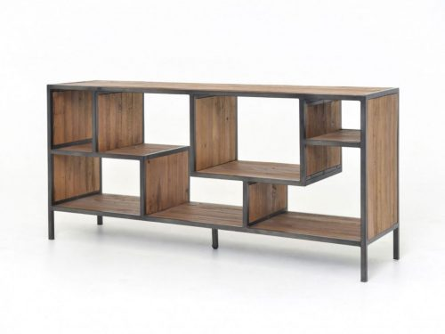 Hilton Head Furniture - John Kilmer Fine Interiors   Helena Console Bookcase 1 Helena Console Bookcase 1