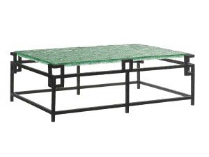 Hilton Head Furniture Store -  Hermes Reef Glass Top Cocktail Table 1