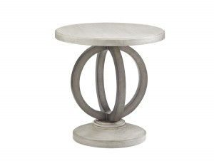 Hilton Head Furniture Store - Lexington Oyster Bay Hewlett Round Side Table