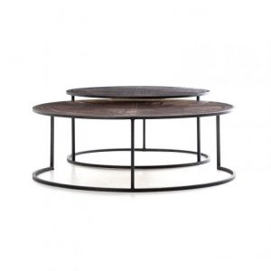 Hilton Head Furniture - From John Kilmer Fine Interiors - Hughes Catalina Nesting Coffee Table 1