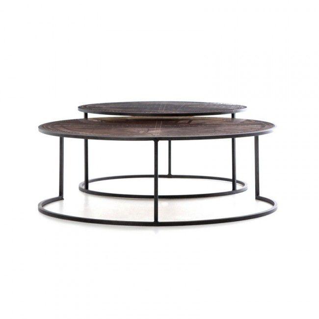 Hughes Catalina Nesting Coffee Table John Kilmer