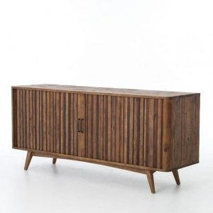 Hilton Head Furniture - John Kilmer Fine Interiors   Hughes Danny Media Console With Tambor Doors 1