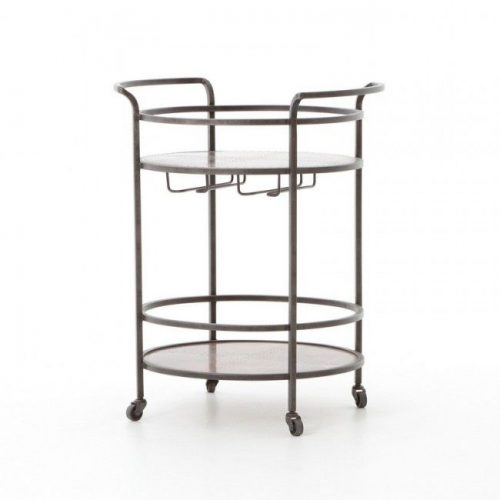 Hilton Head Furniture - John Kilmer Fine Interiors   Hughes Eva Bar Cart 1 Hughes Eva Bar Cart 1