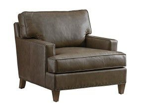 Hilton Head Furniture Store - Tommy Bahama Cypress Point Hughes Leather Chair