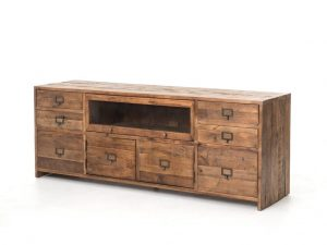 Hilton Head Furniture - John Kilmer Fine Interiors   Hughes Media Console 1