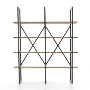 Hilton Head Furniture - From John Kilmer Fine Interiors - Hughes Shane Double Bookcase 1