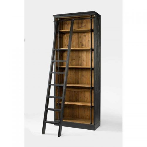 Hilton Head Furniture - John Kilmer Fine Interiors   Ivy Bookcase And Ladder 1 Ivy Bookcase And Ladder 1