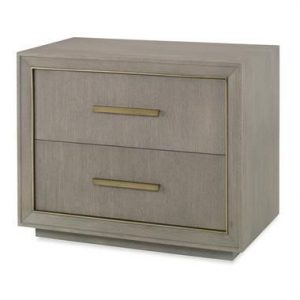 Hilton Head Furniture - John Kilmer Fine Interiors   Kendall Two Drawer Nighstand 1