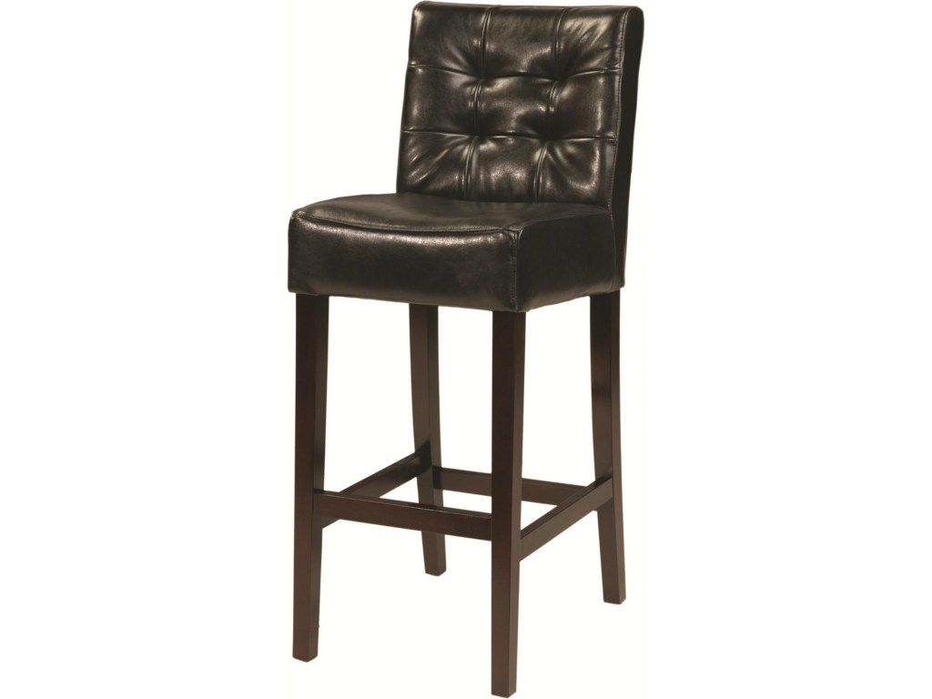 Kensington Charles Leather Bar Stool John Kilmer