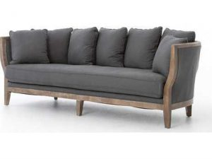 Hilton Head Furniture - John Kilmer Fine Interiors   Kensington Finn Charcoal Hayes Sofa 1