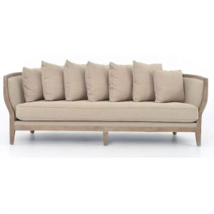 Hilton Head Furniture Store - Kensington Hayes Sofa With Hyde Clay Fabric
